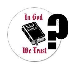 God we trust?