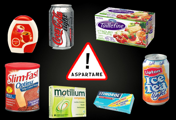 products with aspartame