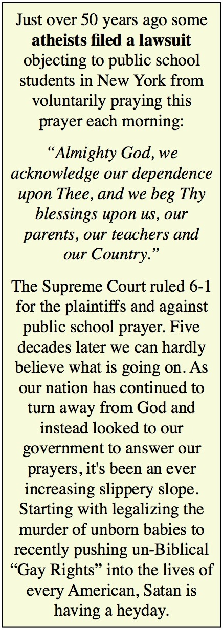 atheist lawsuit
