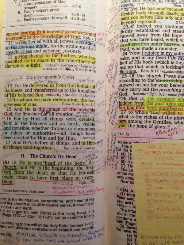 BP Bible