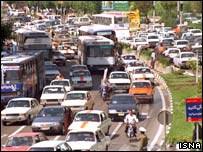 Iranian traffic