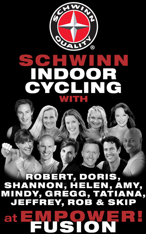 Schwinn Indoor Cycling at EMPOWER! Fusion