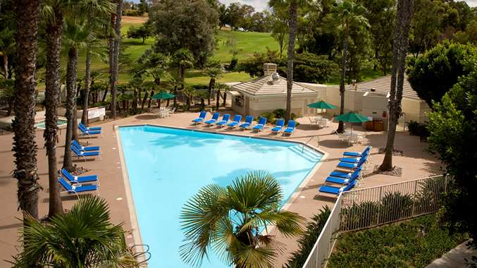 San Diego Double Tree Pool 2013