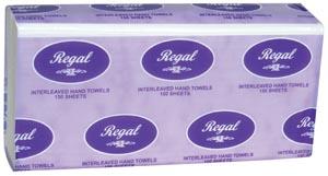 Regal Interleaved Hand Towel