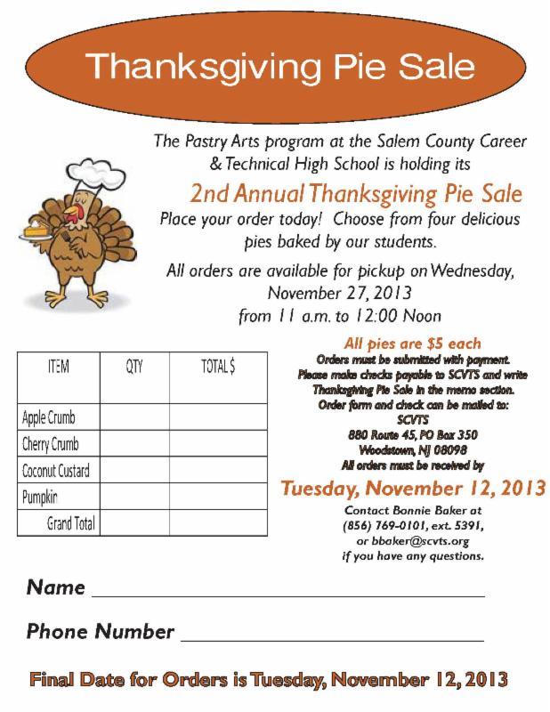 What's Happening in Salem County! E'newsletter November 1