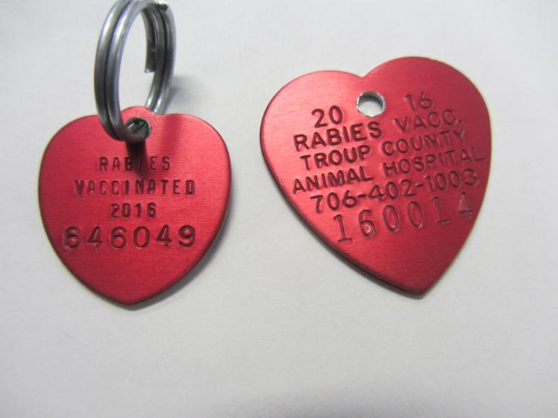 Counterfeit Rabies Tag