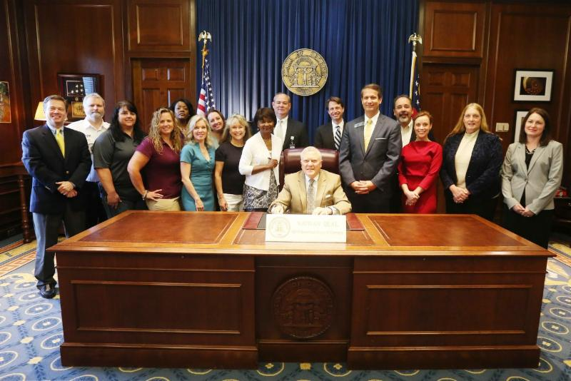 Cost of Care Bill Signing