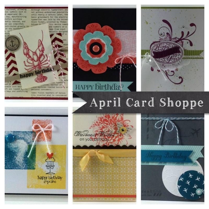 April Card Shoppe ad