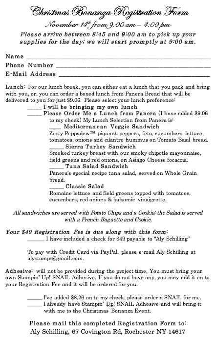 CB Registration Form