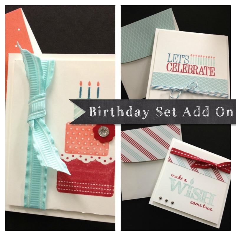 Birthday Set add on