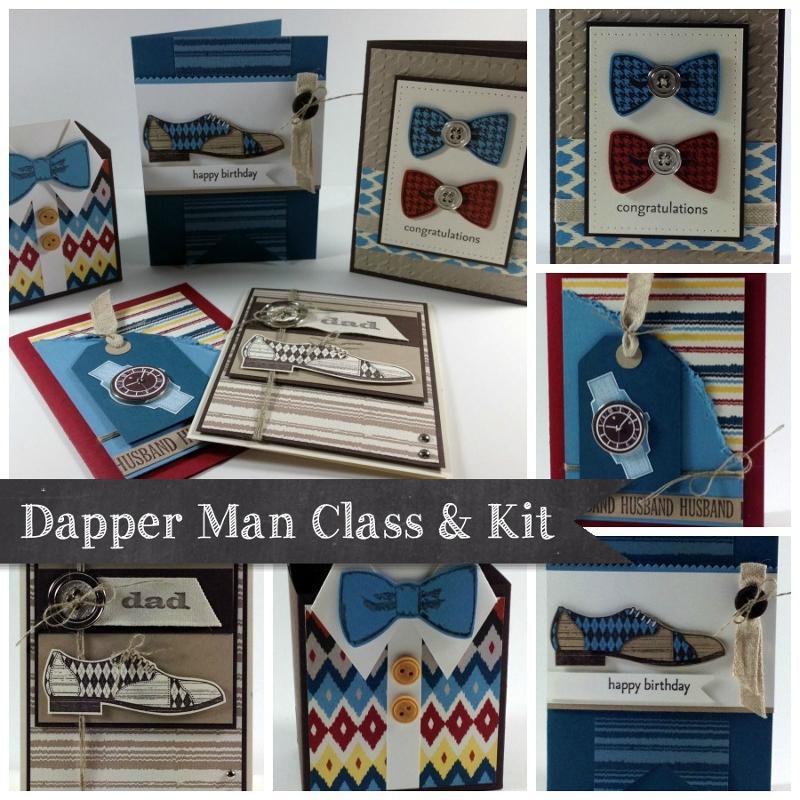 Dapper Man Card Class Ad