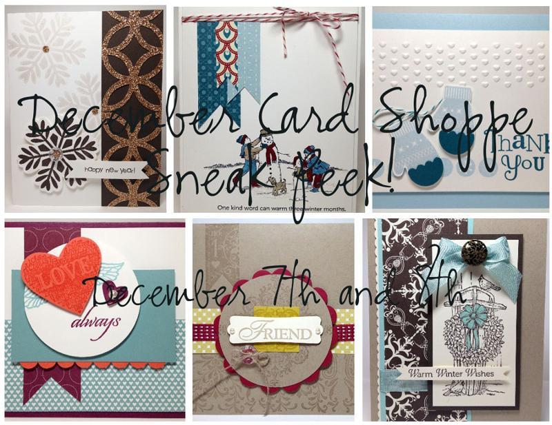 December Card Shoppe Ad