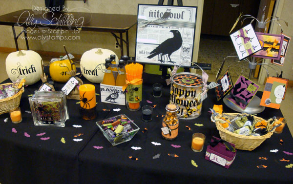 Stamp Shoppe display table