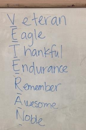 veterans day acrostic poem examples poemdoc or