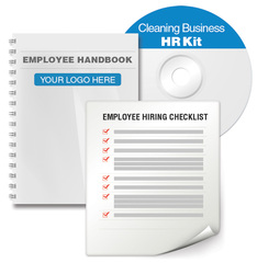 get a free employee handbook template for your cleaning business