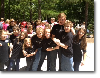 Skye Chase Academy's Odyssey of the Mind Team