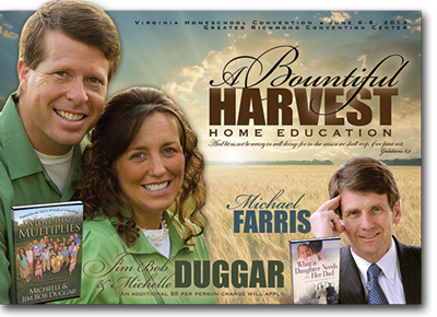 Jim Bob & Michelle Duggar and Michael Farris