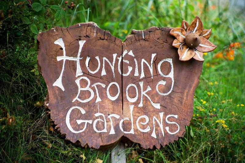 Hunting Brook Butterfly sign