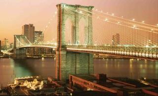 BROOKYN BRIDGE pink
