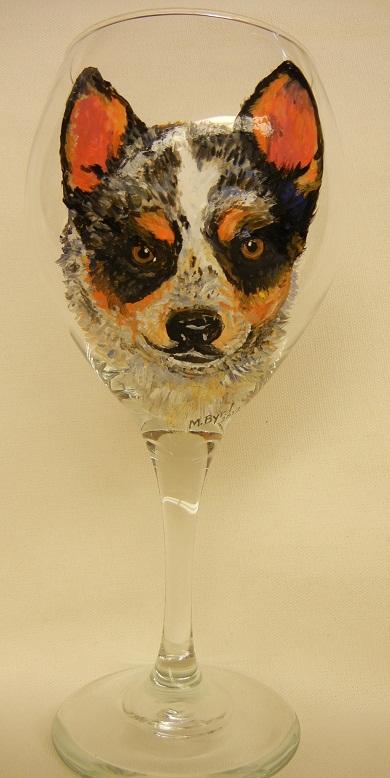 Dog Portrait Aussie