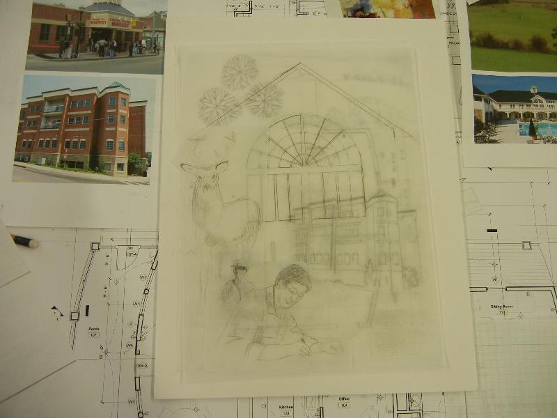 Sketches of the Architect Works