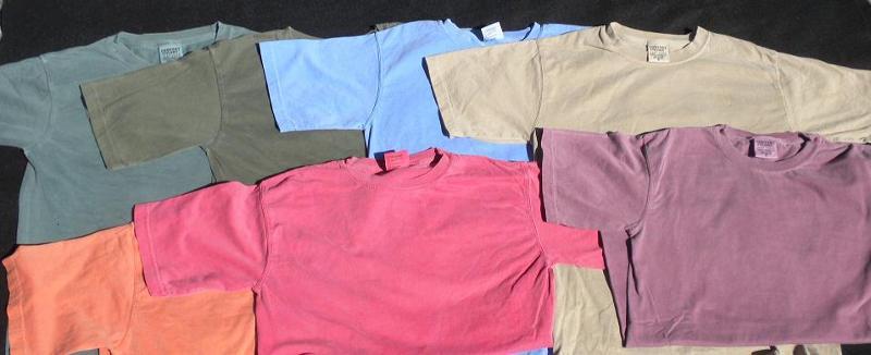 unisex color shirts