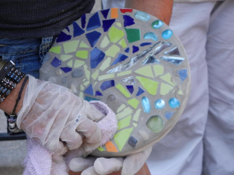 mosaic-making