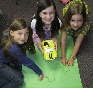 St. George's students program with Pro-Bot