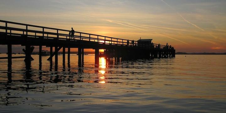 Dock Savary island