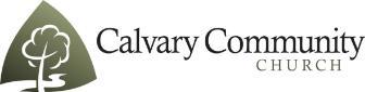 Calvary Logo-t