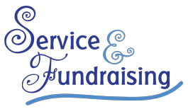 Service and Fundraising graphic