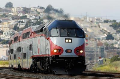 Caltrain Baby Bullet Locomotive