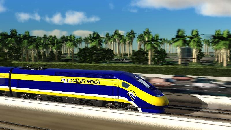 High Speed Rail Image