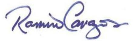 Ramiro Cavazos Signature