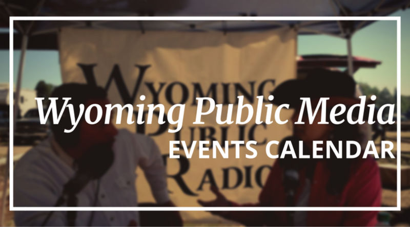 Wyoming Public Media Events Calendar