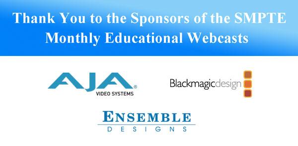 Webcast Sponsors