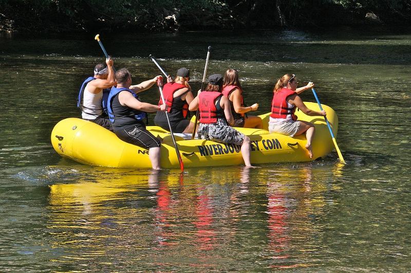 Rafting the SJ River