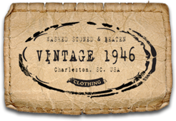 Vintage 1946 patch logo