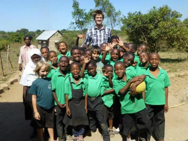 Matt in Tanzania