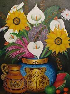 still life withflowers