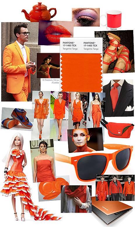 Tangerine Tango Pantone