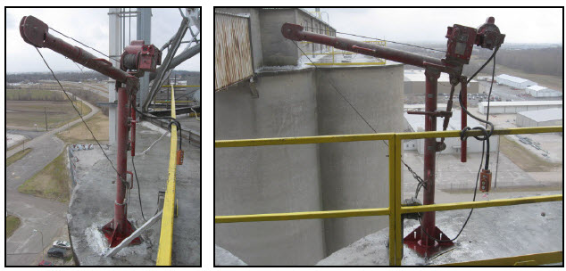 Silo Crane Application