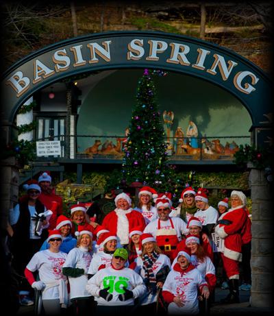 Santa Fun Run 2011