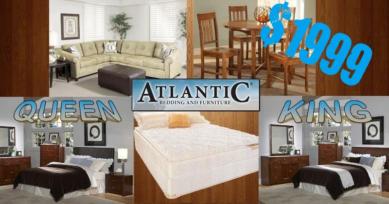 End Of Summer Deals From Atlantic Bedding And Furniture