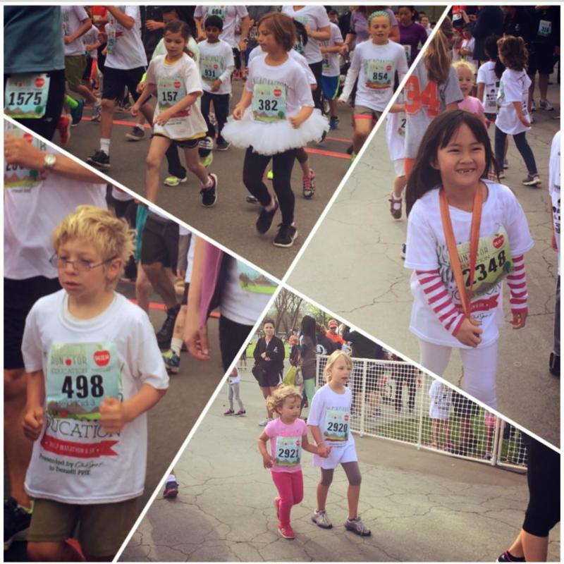Run for Education collage