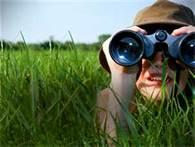 looking forward women in grass