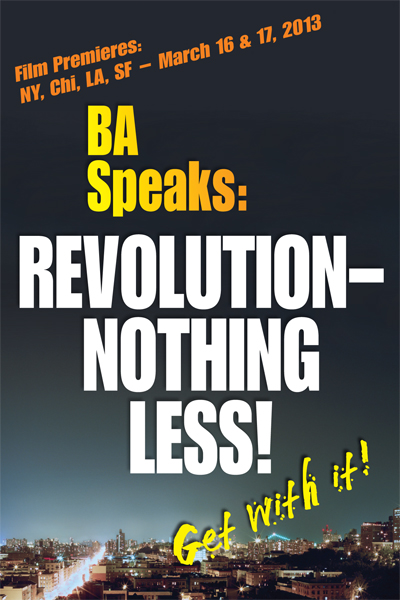 new BA Speak Poster with cities