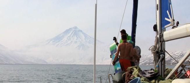 Kamchatka sailing