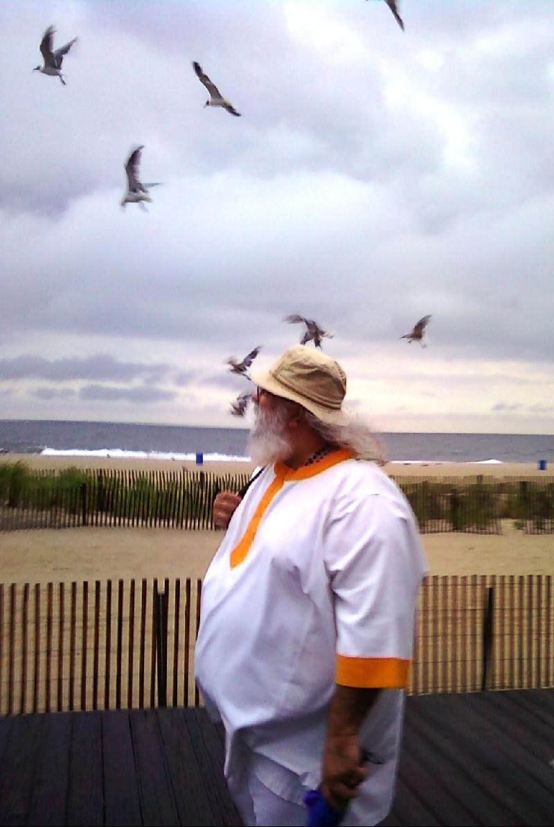 Guruji at the New Jersey Shore