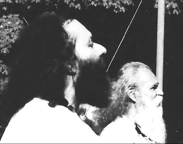 Guruji with Gurudev